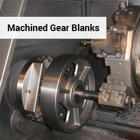 Machined Gear Blanks